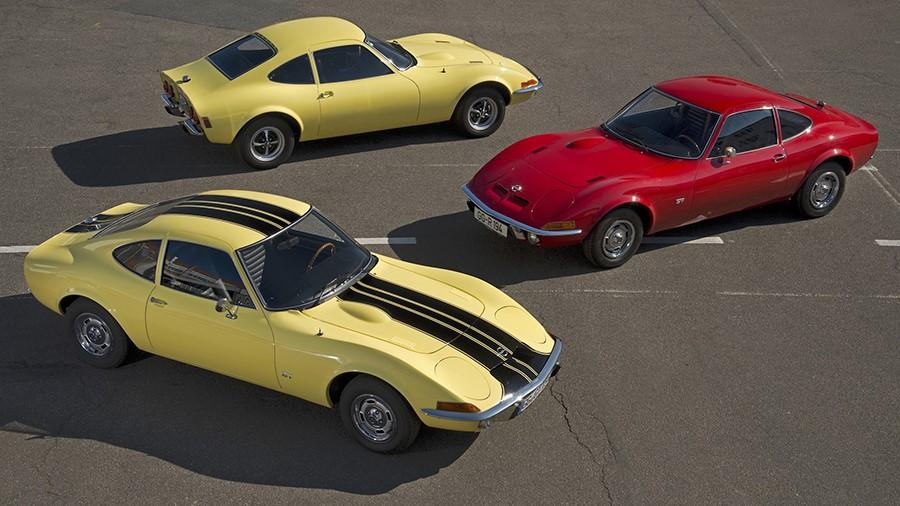 Не самая популярная модель в нашей стране, но Opel GT у нас есть и им в 2018ом стукнуло по 50 лет