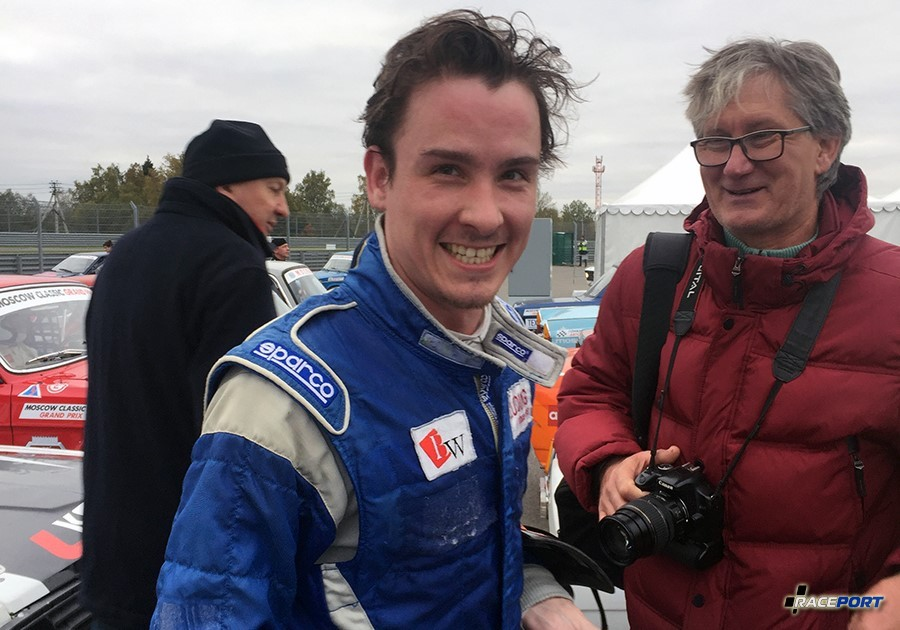 Довольный пилот после финиша! :)