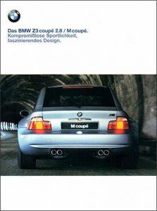 Проспект BMW Z3