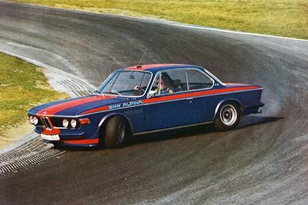 Дрифт на BMW был уже тогда, когда дрифта как такового еще не было :)