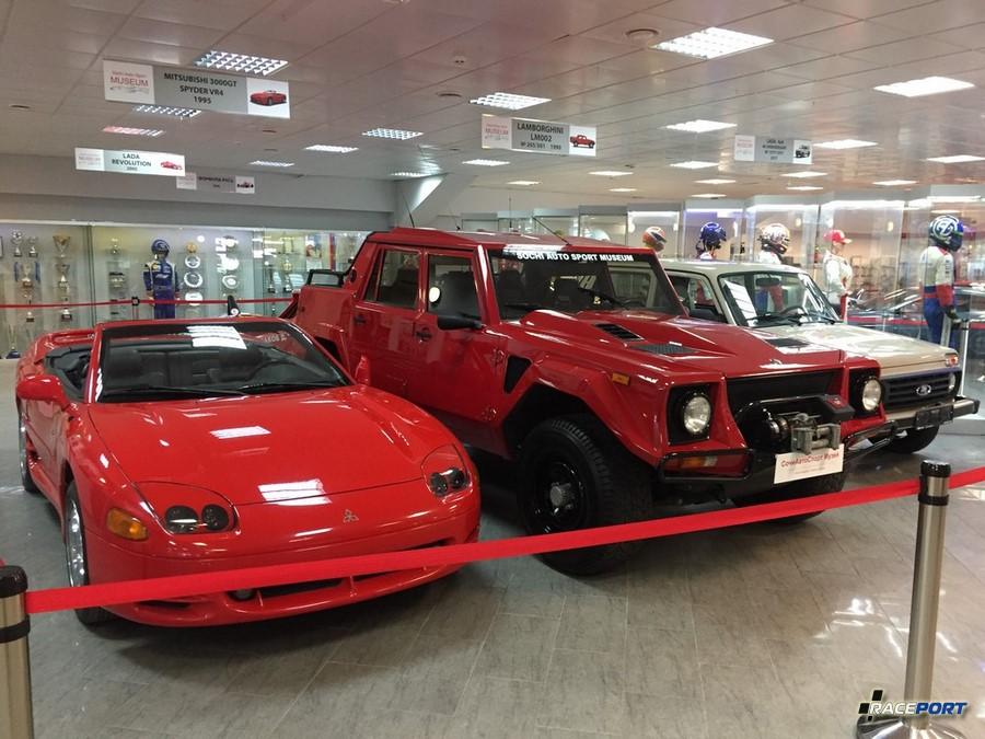 Mitsubishi 3000 и Lamborghini LM002