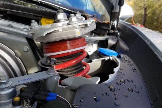 053 Разрушение кузова на Porsche 991