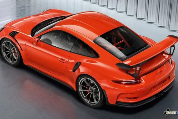 Распродажа оригинальных кузовных деталей из карбона на Porsche 991