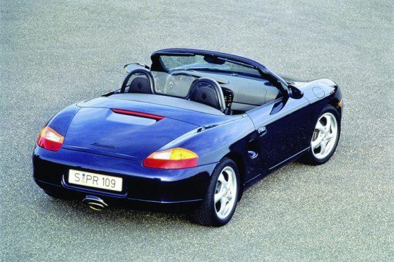 История появления Porsche Boxster