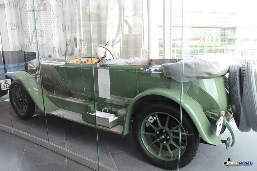 Horch 10/35 PS 1923 г. в. 35 л.с. при 2000 об/мин, объем двигателя 2612 куб см