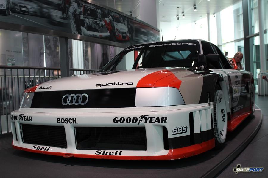 Также интересный экземпляр болид чемпионата IMSA. Audi 90 quattro IMSA-GTO 1989 г. в.