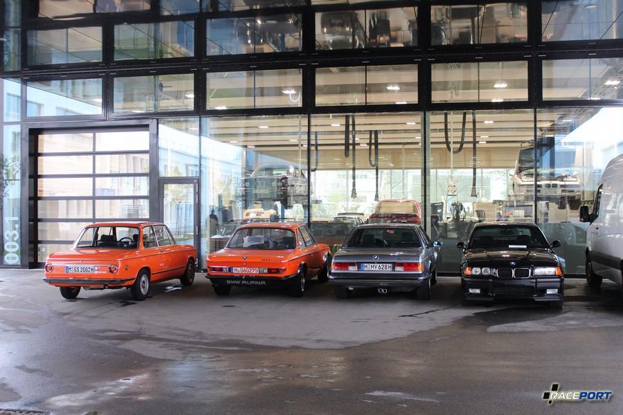 BMW 2002, E9 Alpina, E24 635CSi и E36 M3 ждут отдачи владельцам.