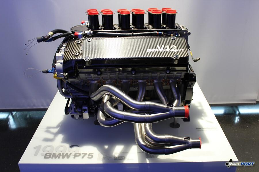 Еще один известный двигатель V12 с маркировкой P75.