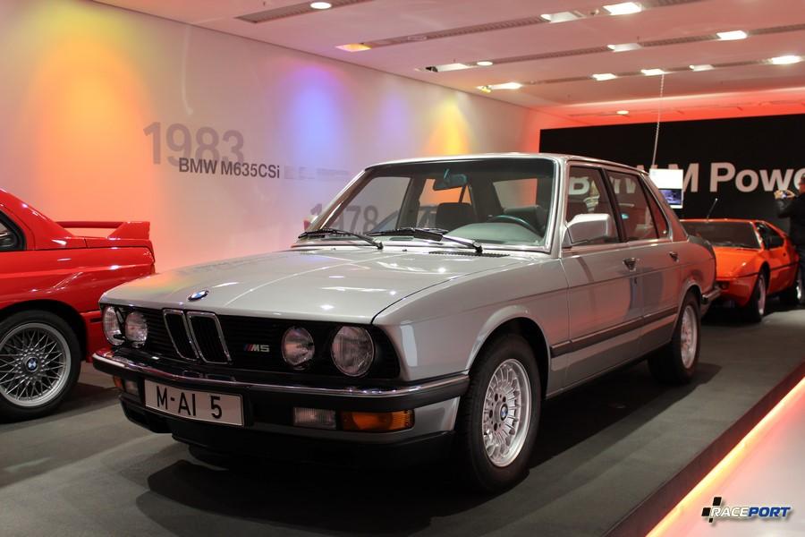Первая генерация модели M5 в кузове E28
