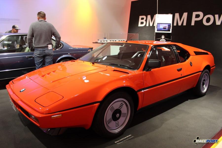 BMW M1 E24. Кузов был разработан известным на весь мир дизайнером Джорджетто Джуджарро