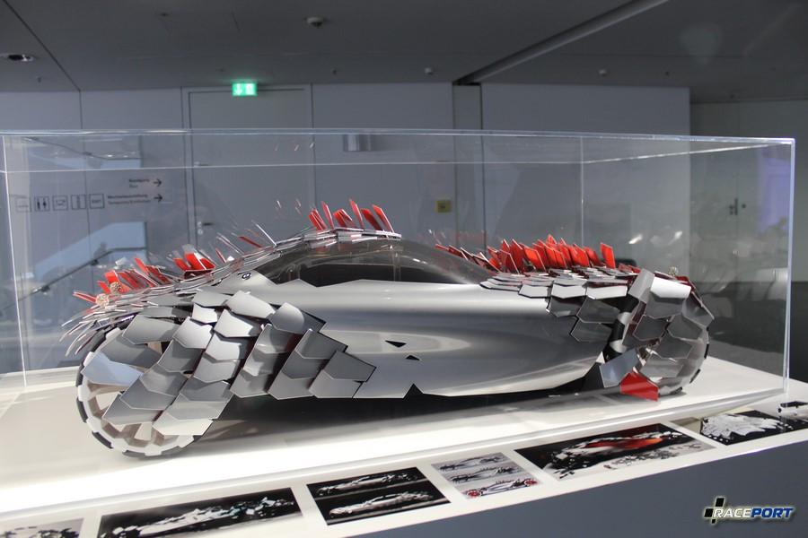 Макет футуристического концепта BMW