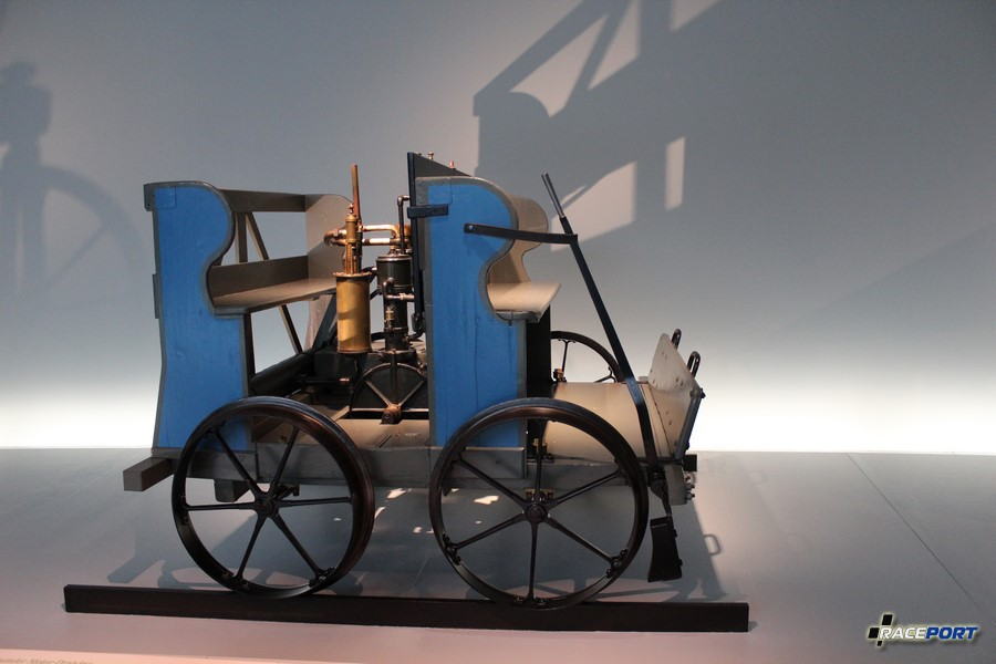 1897 Daimler Motor-Draisine