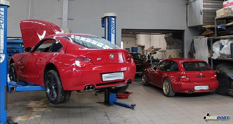Две M Coupe Z4M и Z3M