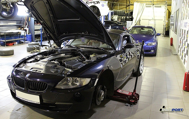 Перед покупкой БУ Z4M следует проверить машину в техцентре