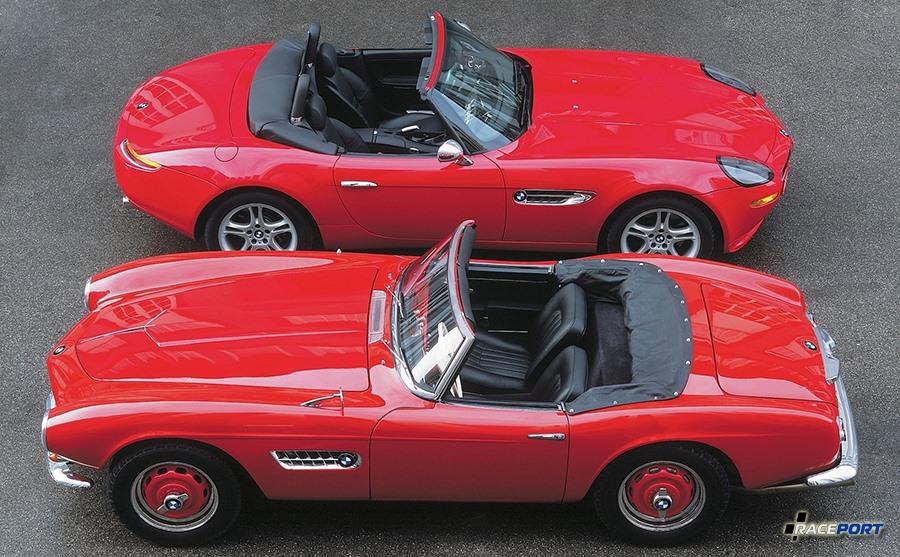 BMW Z8 & BMW 507