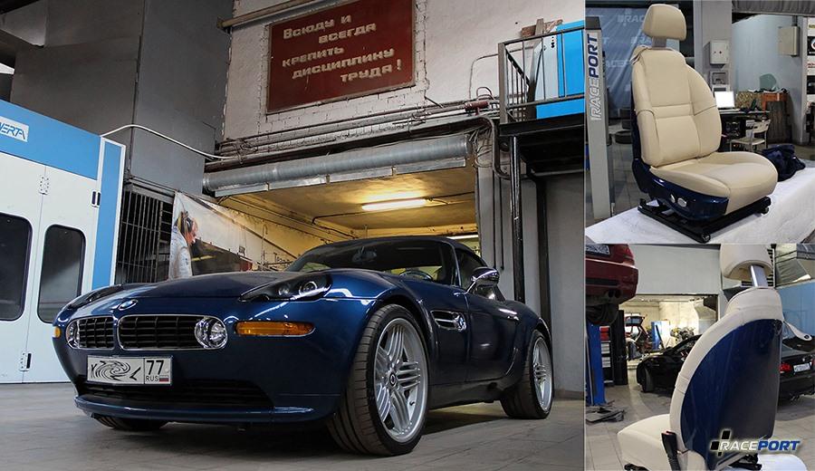 BMW Z8 в Рейспорт