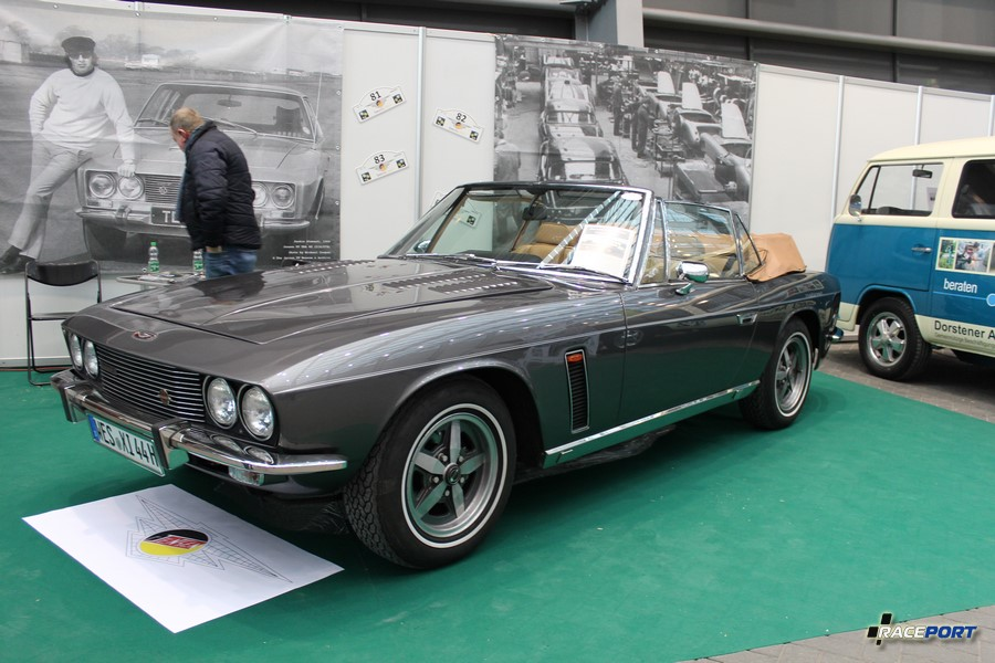 1975 Jensen Interceptor Convertible. Motor Chrysler V8, 7,2L, 286 Hp 4800 rpm, 515 Hm. 220 km/h