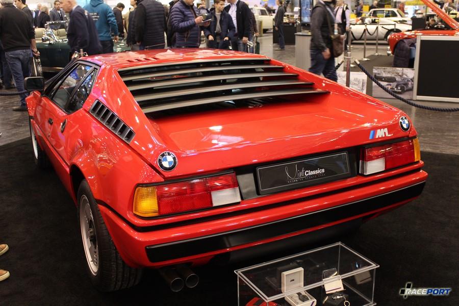 BMW M1 E26 Пробег 7329 км. Автомобиль сертифицирован BMW Classic