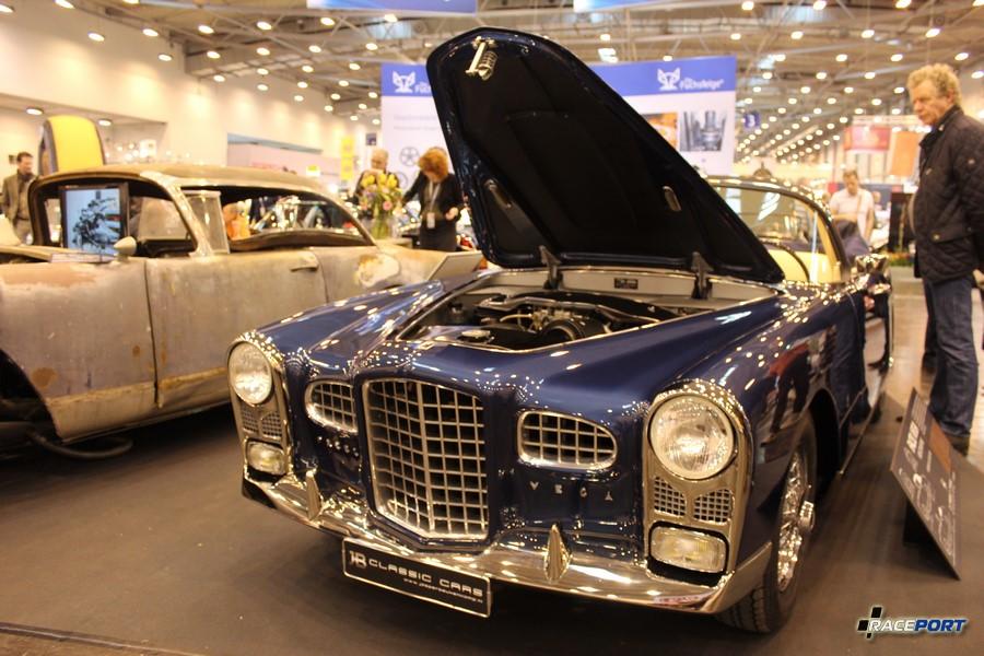 1961 Facel Vega HK 500 В России эту модель ниразу не встречал, а тут сразу семь Facel Vega очень красивый автомобиль немного похож на Pontiac GTO. Двигатель Chrysler V8, 330 л. с. 240 км/ч. Вес 1660 кг. Выпущено 490 экземпляров. 179 000 Euro