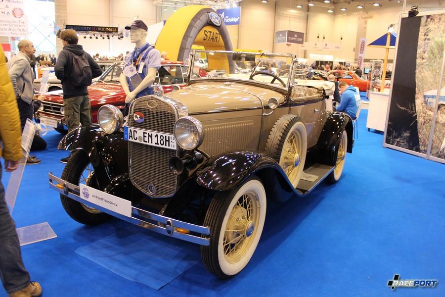 1931 г. в. Ford A-Modell Roadster de Luxe. 4 цил., 3236 куб см, 40 л. с.