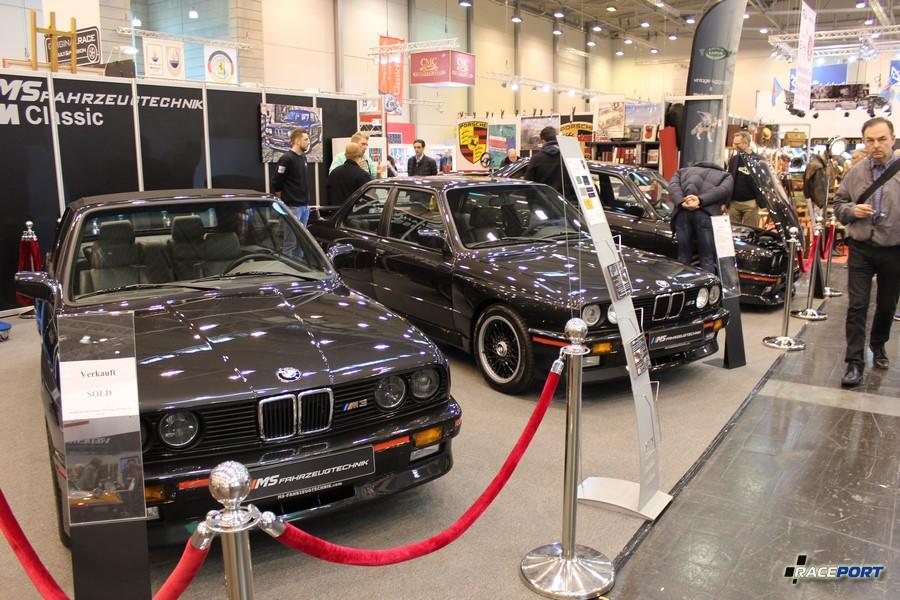Три BMW M3 E30 кабриолет и пара купе