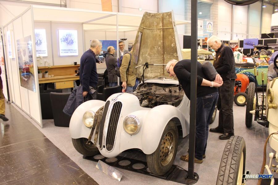 BMW 328 Roadster 1939 г. в. перед реставрацией. Шасси номер 85 341