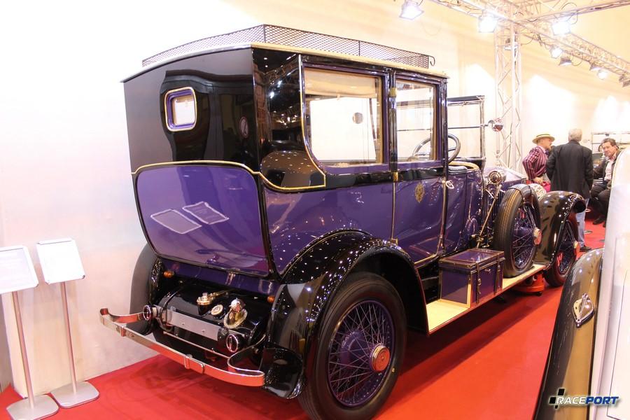 1925 Rolls Royce Silver Ghost Tourer. 220 000 футов