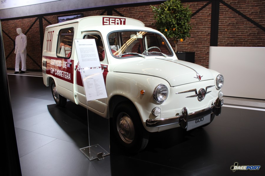 Seat 600 Formichetta 1964 г. в.
