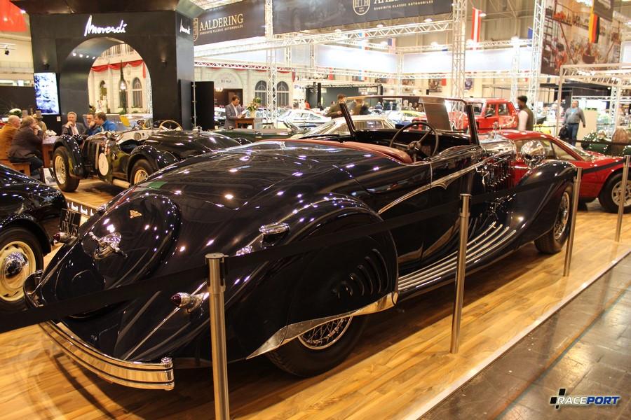 1936 г. в. Hispano-Suiza K6 Roadster Saoutchik
