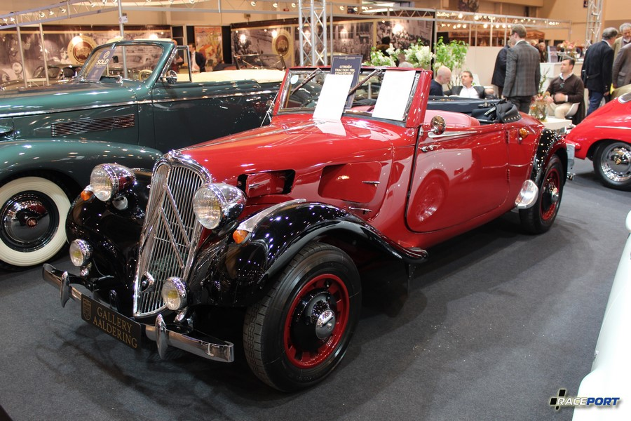 Citroen Traction 11BL Convertible 1937 г. в.