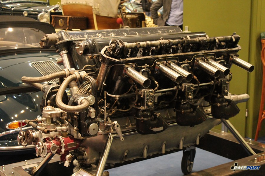 Двигатель V12 от Hispano-Suiza 1927-1928 года 500 л. с.