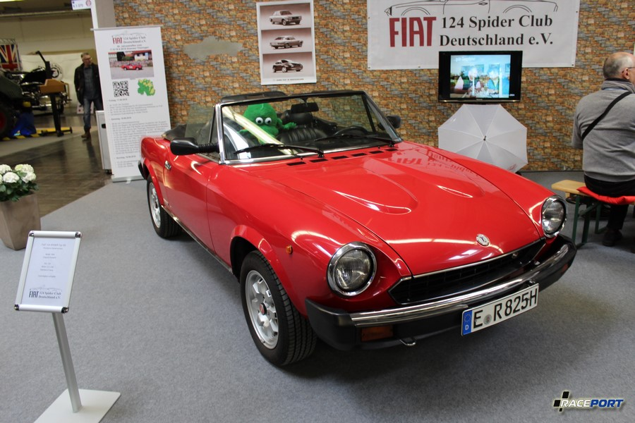 Fiat 124 Spider Typ DS 1984 г. в. 2.0 л, 105 л. с.