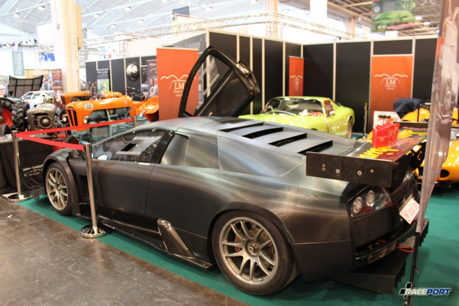 Lamborghini Murcielago racing version, неокрашенный карбон