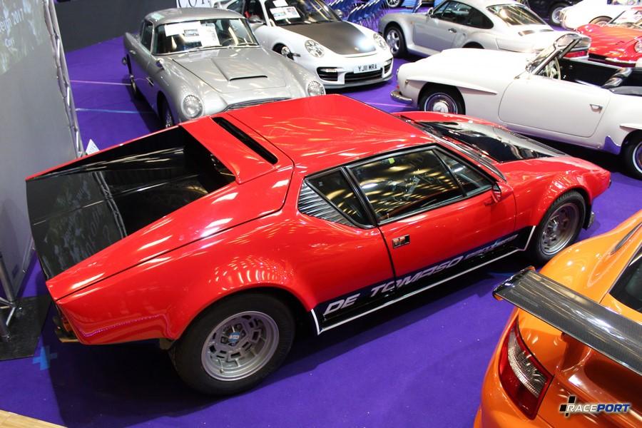 De Tomaso Pantera необычное чувство видеть столько редких автомобилей в один день!