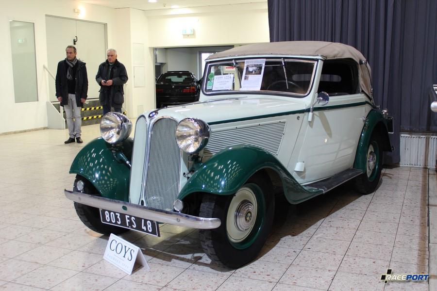 1935 г. в. BMW Convertible