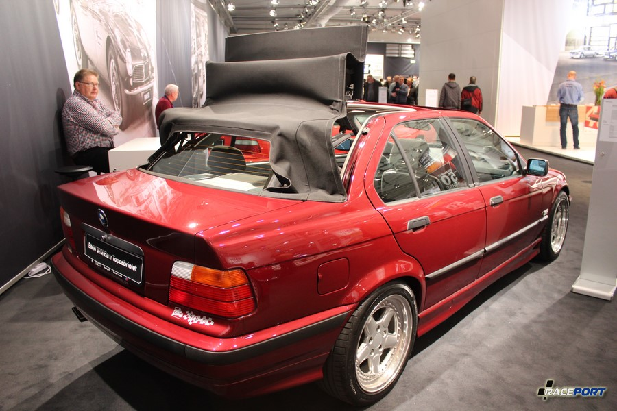 BMW E36 Baur Top Cabriolet TC4. Цена в 1992 г. 59 581 DM (1300 кг)