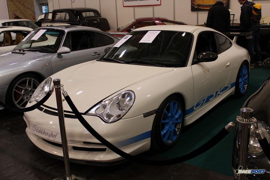 Действительная редкость Porsche 996 GT3 RS