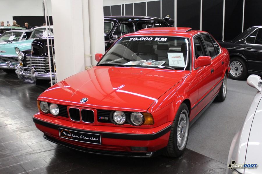 1989 BMW M5 3,6 E34; 78000 km; 49 950 Euro