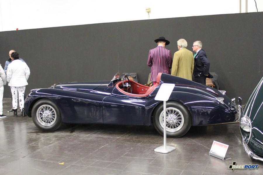 Реплика Jaguar XK120 Jabbeke 1954 года