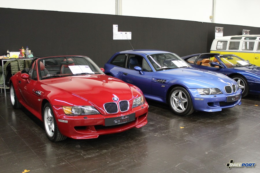 BMW Z3M Roadster (1999; 31000 km; 55 000 Euro) & Coupe