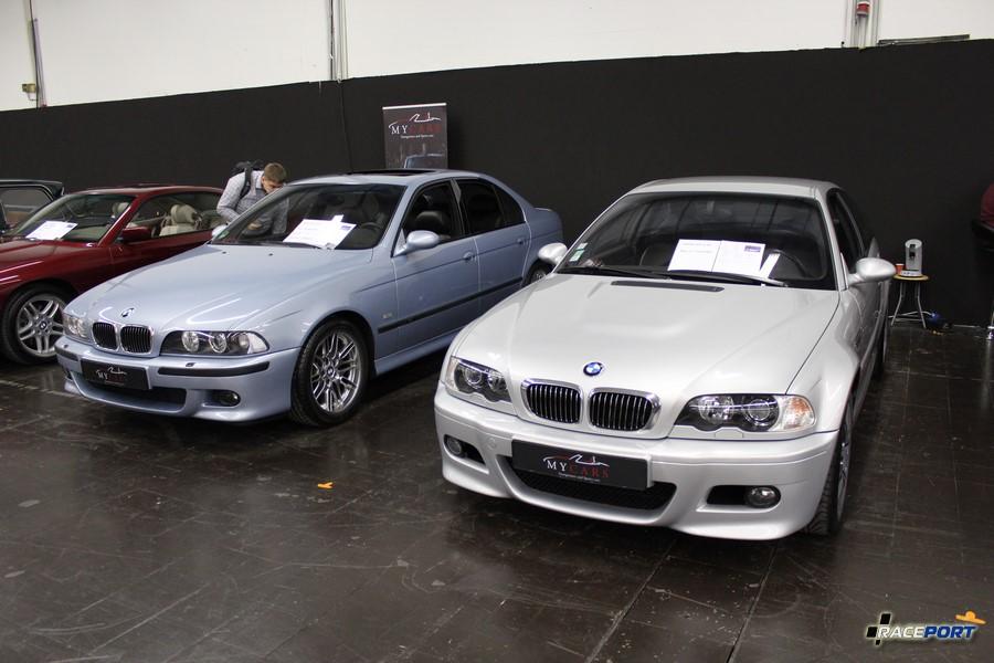 BMW M5 E39 and BMW M3 E46