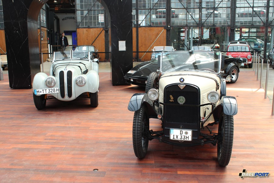 BMW 328 Roadster and BMW Dixi