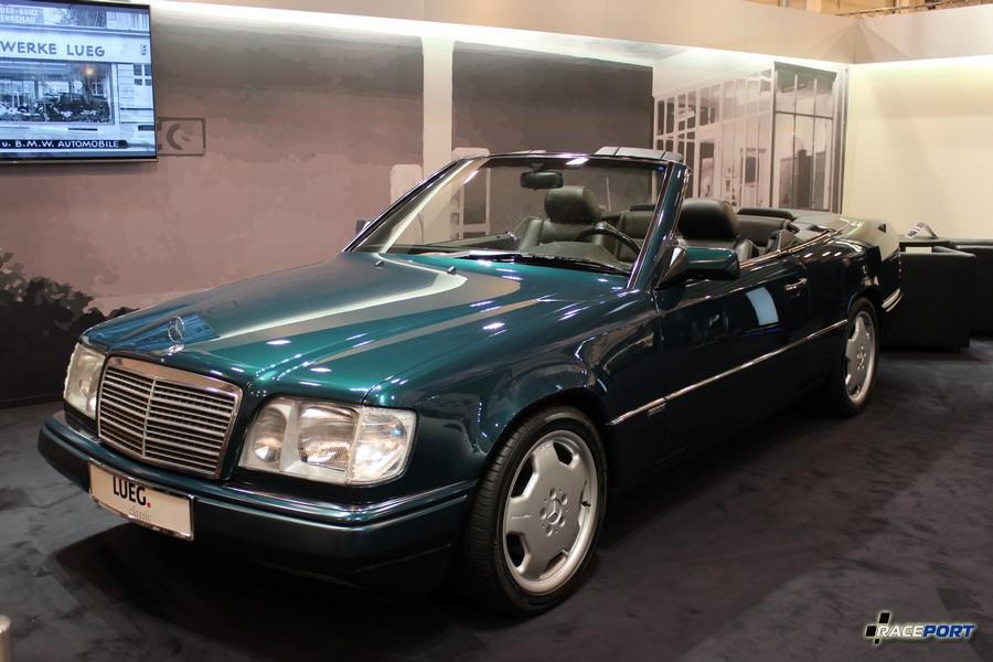 Mercedes-Benz E200 W124 Кабрио 1996 г. в. с очень красивым цветом, таких на выставке была пара 29 900 Euro