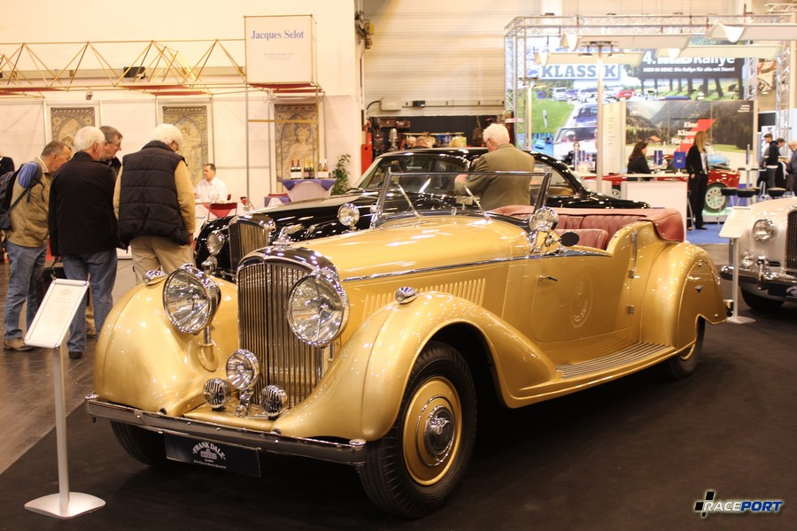1939 г. в. Bentley 4 1/4 Litre. 650 000 Euro