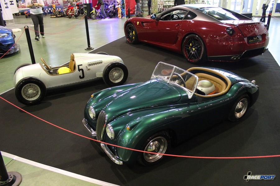 Прикольные маленькие машины Jaguar и Audi