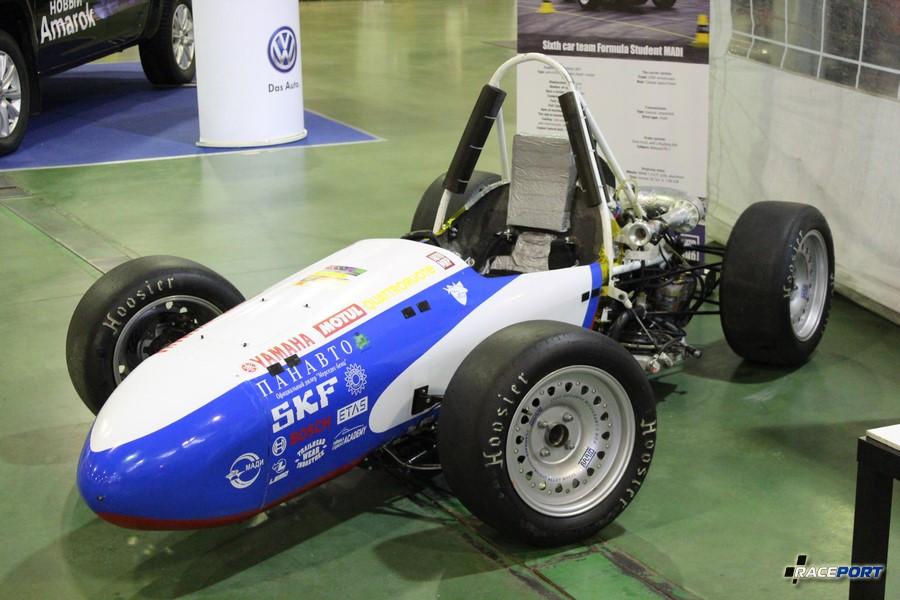 Автомобиль созданый студентами из одноименного чемпионата Формула-студент