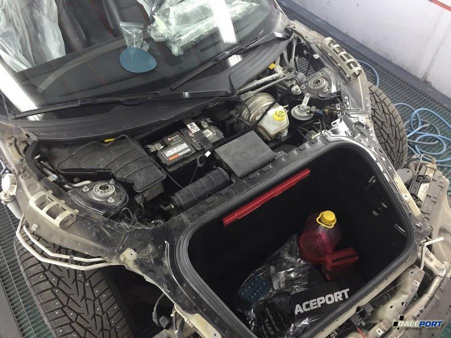 Полный разбор навесных кузовных панелей кузова 911