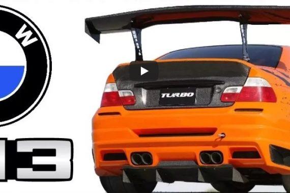 Динамичное видео о 3х поколениях автомобилей BMW M3