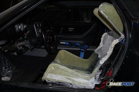 Полная модификация сидений на Нобл, увеличение боковой поддержки