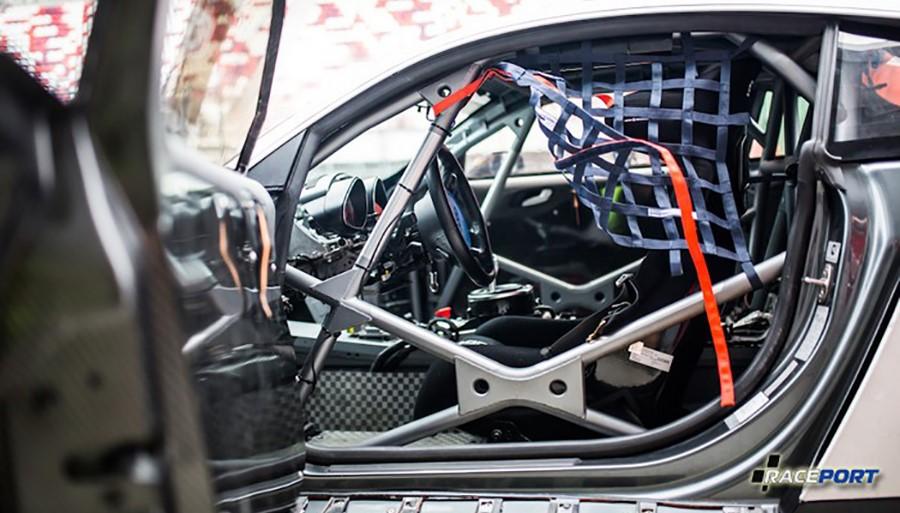 Подготовка Audi R8 к гонкам REC